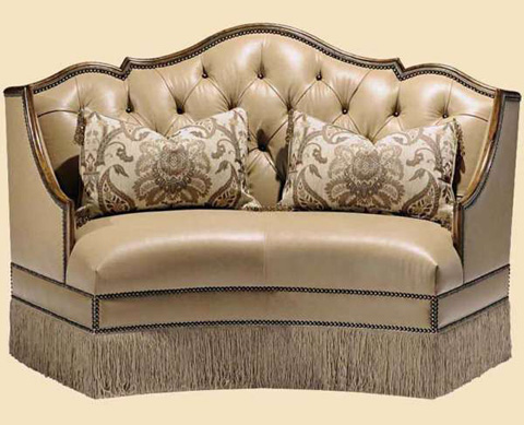 Marge Carson - Tufted Banquette - SEV42