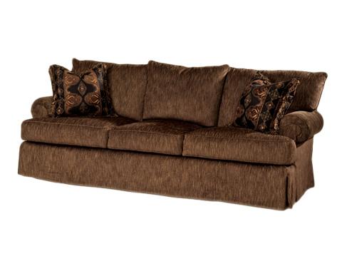 Marge Carson - Roll Arm Sofa - STB43-98
