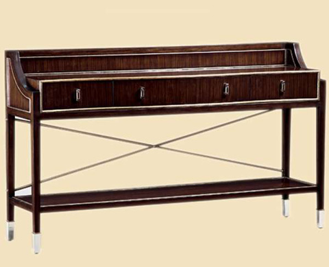 Image of Three Drawer Console