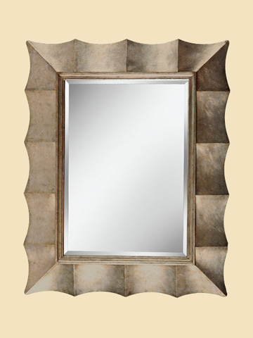 Image of Scalloped Wall Mirror