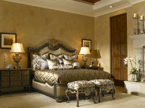 Marge Carson - Trianon Court Bedroom Set - TRCBEDROOM1