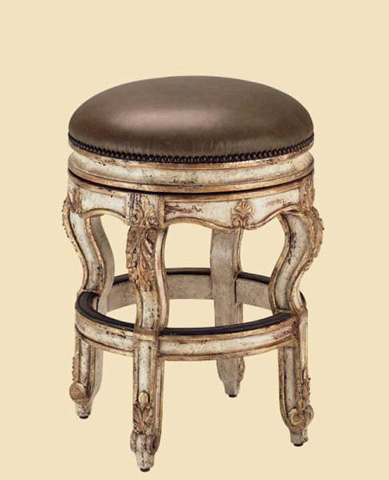 Image of Upholstered Counter Stool