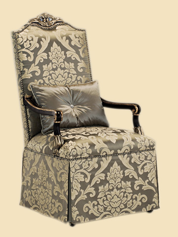 Image of Skirted Arm Chair