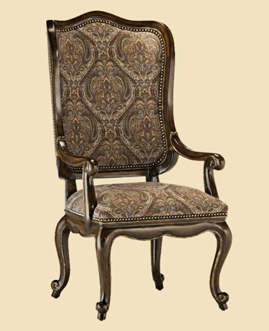 Image of Upholstered Wing Arm Chair