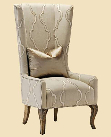 Image of Upholstered Dining Host Chair