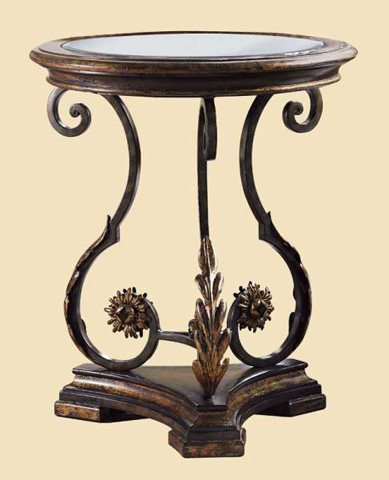 Image of Round Chairside Table