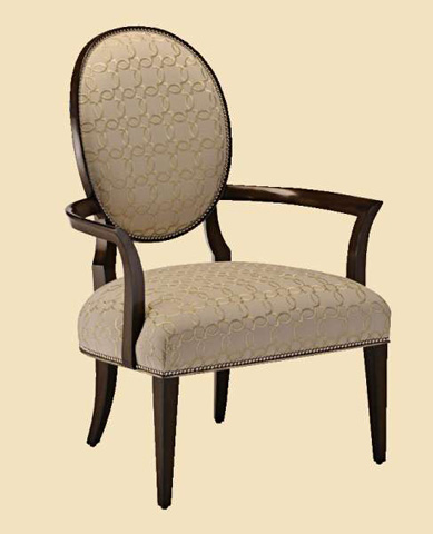 Image of Oval Back Lounge Chair