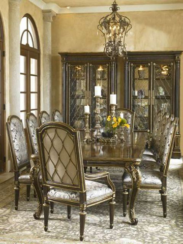 Marge Carson - Trianon Court Dining Room Set - TRIANONDINING1