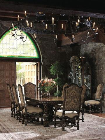 Marge Carson - Segovia Dining Room Set - SEGOVIADINING1