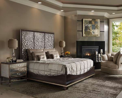 Marge Carson - Bolero Bedroom Set - BOLBEDROOM1