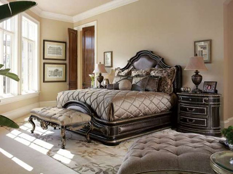 Piazza San Marco Bedroom Set Psmbedroom1 Marge Carson Bedroom Collections From Furnitureland