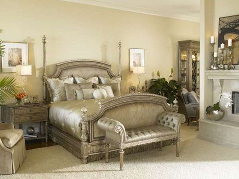 Marge Carson - Trianon Court Bedroom Set - TRCBEDROOM3