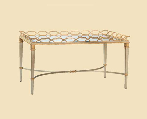 Marge Carson - Cambria Cocktail Table - CMB01S