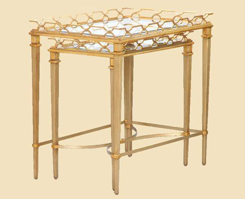 Marge Carson - Cambria Nesting Tables - CMB04