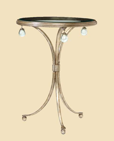 Image of Cross Channel Chairside Table
