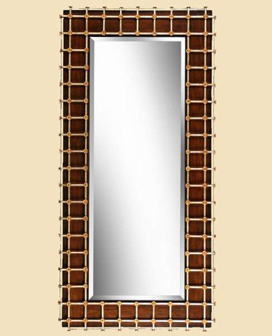 Image of Cross Channel Floor Mirror