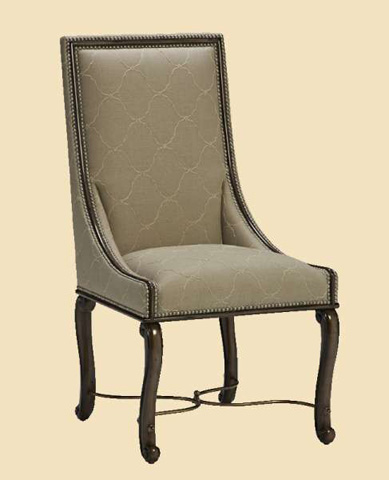 Image of Cross Channel Side Chair