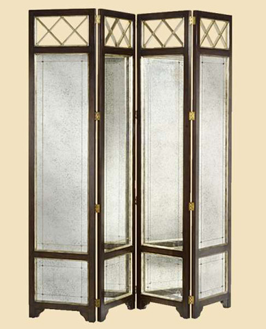 Marge Carson - Ionia Four Panel Screen - ION36