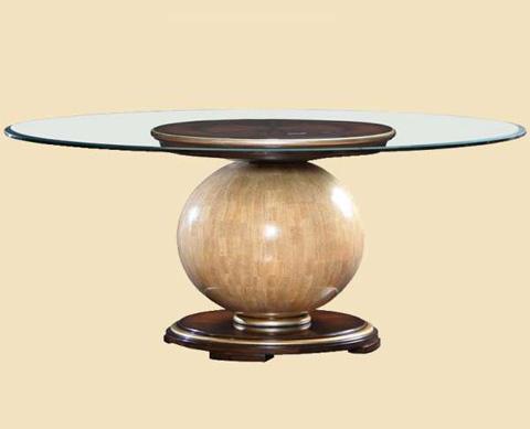 Marge Carson - Malibu Round Dining Table - MLB08G