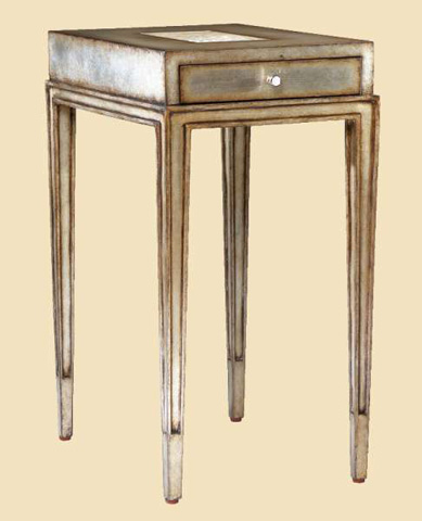 Marge Carson - Redondo Chairside Table - RED30-2