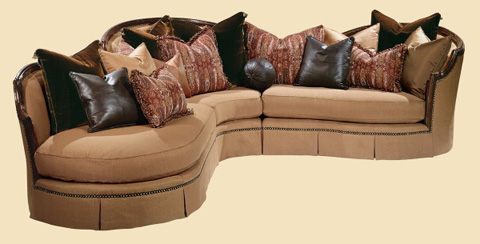 Marge Carson - Isadora Sectional - IS52/IS55/IS62