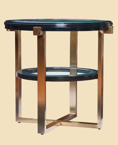 Marge Carson - Lake Shore Drive End Table - LDR04