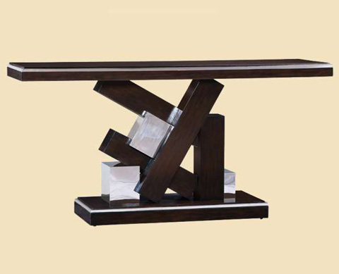 Marge Carson - Lake Shore Drive Console Table - LDR06-2