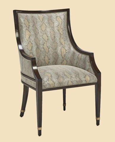 Marge Carson - Lake Shore Drive Arm Chair - LDR66