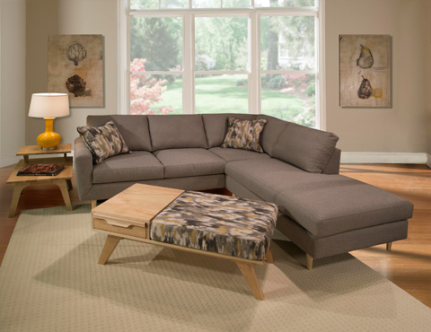 Marshfield Furniture - Chaise Ottoman - 1966-59
