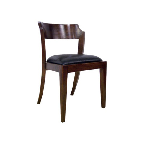 Image of Montecito Notched Round Side Chair