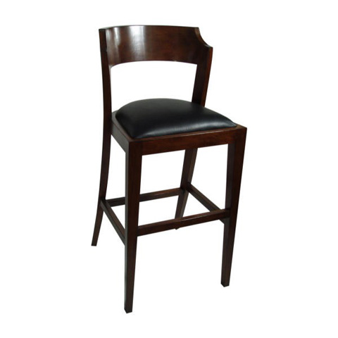 Maria Yee - Montecito Notched Round Bar Chair - 210-106120
