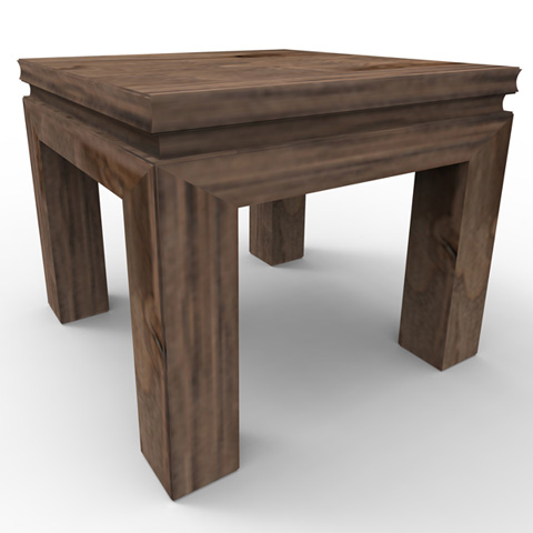 Image of Aptos Square End Table