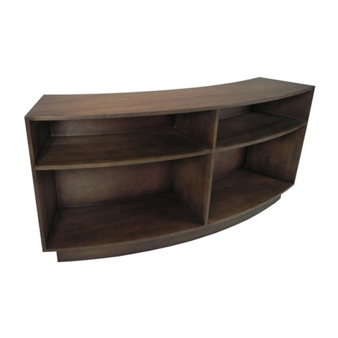 Image of Euclid Curved Bookcase