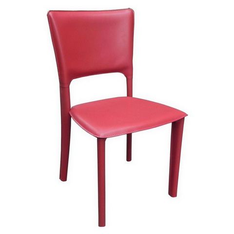 Image of Metro Leather Side Chair