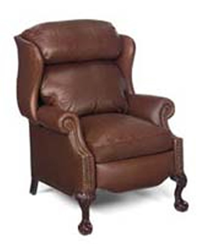 McNeilly Furniture - Ball and Claw Recliner - 0244-R1