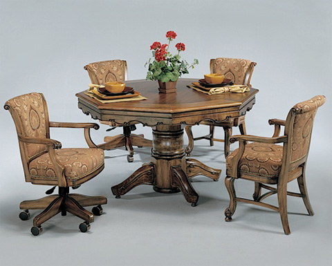Image of Classic Game Table with Game Chairs