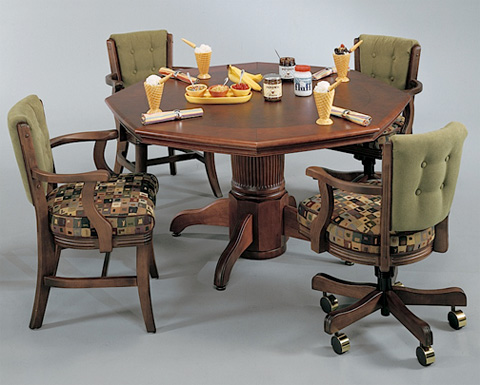 Image of Corsica Game Table with Game Chairs