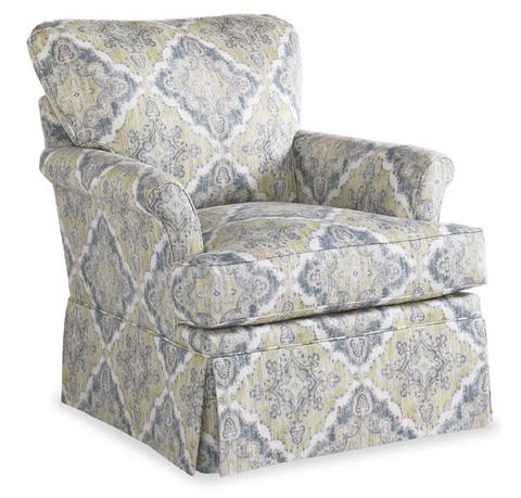 Miles Talbott - Tybee Swivel Chair - TAL-SW-343-C