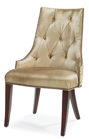 Image of Jamie Wingless Dining Chair