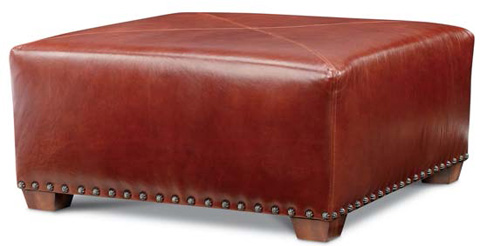 Image of Gable Ottoman