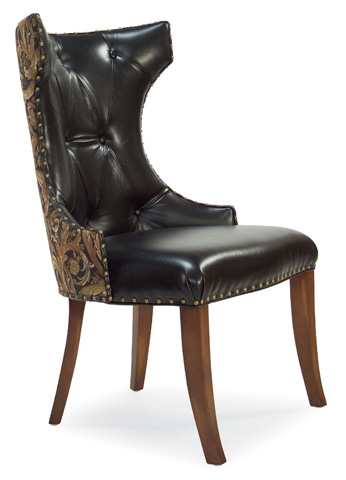 Image of Joel Winged Dining Chair