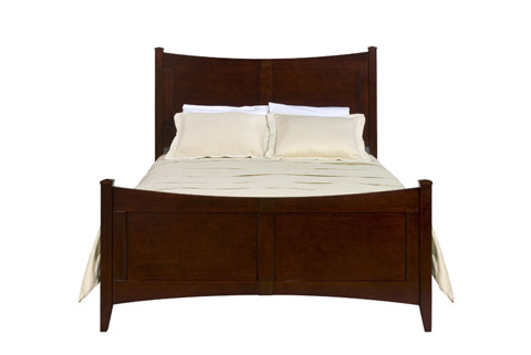 Image of Queen Panel Bed
