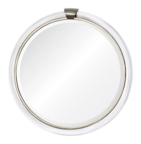 Image of Round with Keystone Mirror