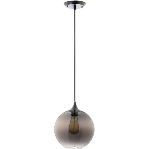 Image of Filament Metal Ceiling Fixture in Black