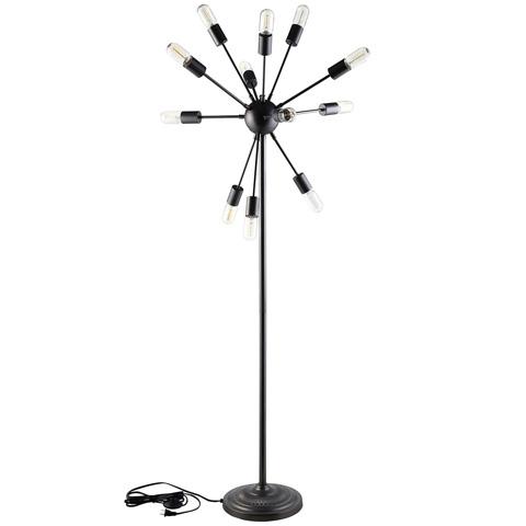 Modway Furniture - Spectrum Floor Lamp in Black - EEI-1563