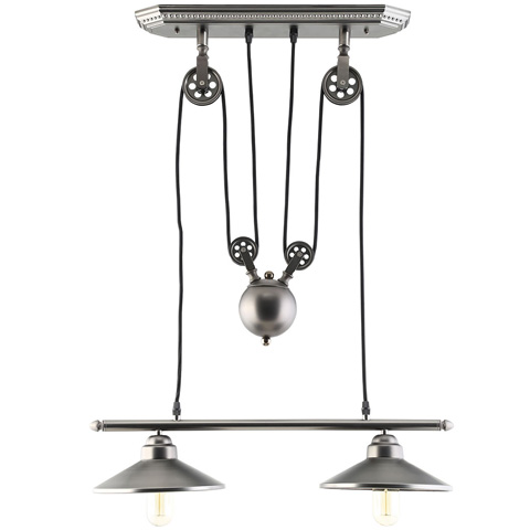 Modway Furniture - Innovateous Ceiling Fixture in Silver - EEI-1567