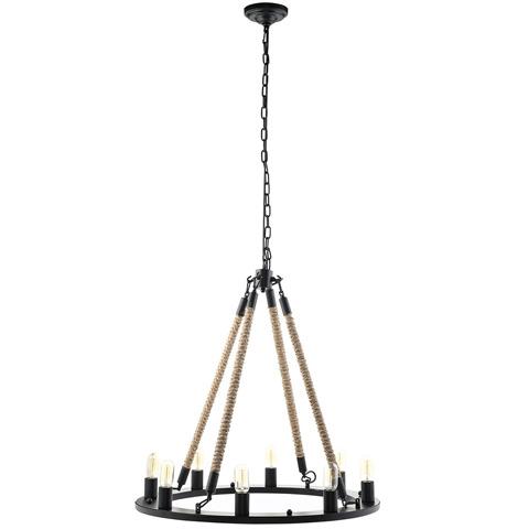 Modway Furniture - Encircle Chandelier in Black - EEI-1574
