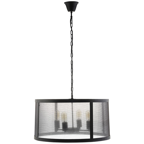 Image of Frost Chandelier in Black