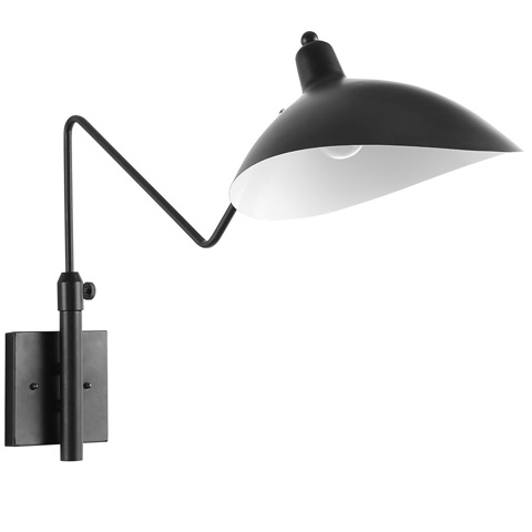 Image of View Wall Lamp in Black