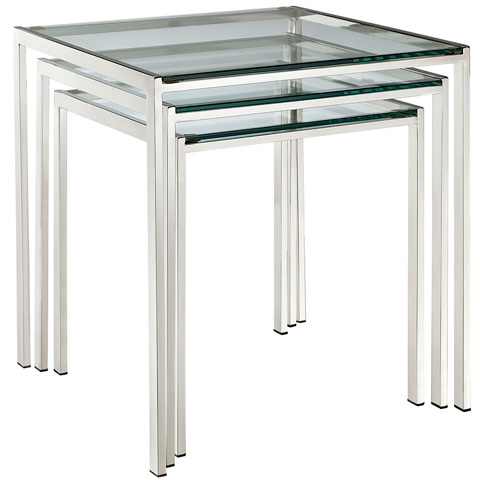 Image of Nimble Nesting Table in Silver